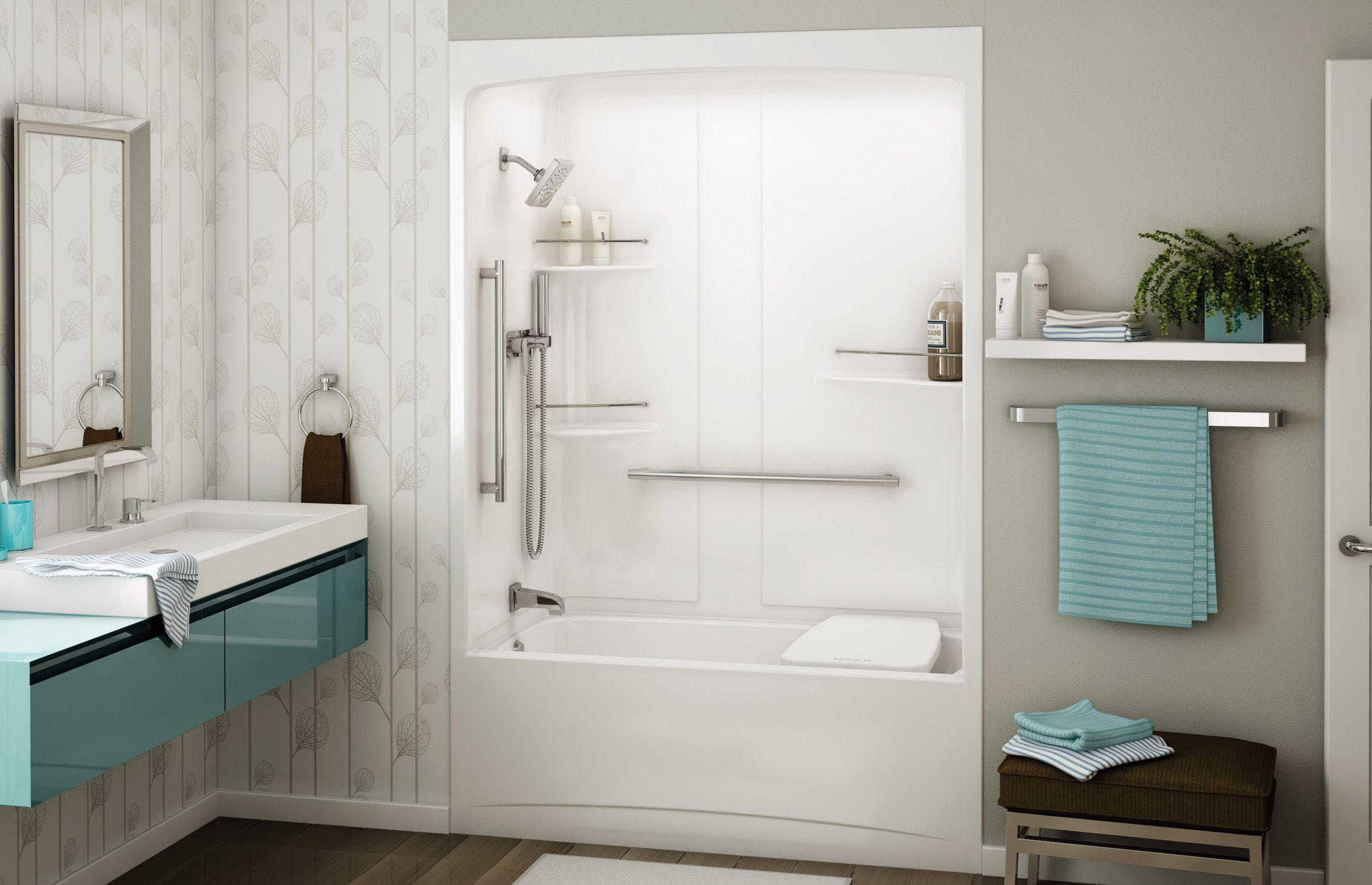 3 piece fibreglass tub | Bathroom redo | Pinterest | Alcove ...