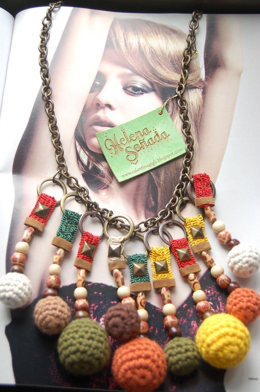 collar étnico artesanal
