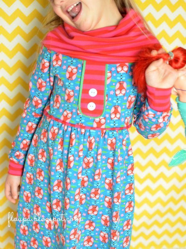 lillesol & pelle Schnittmuster/ pattern: Kleid mit Rollkragen | Addy ...