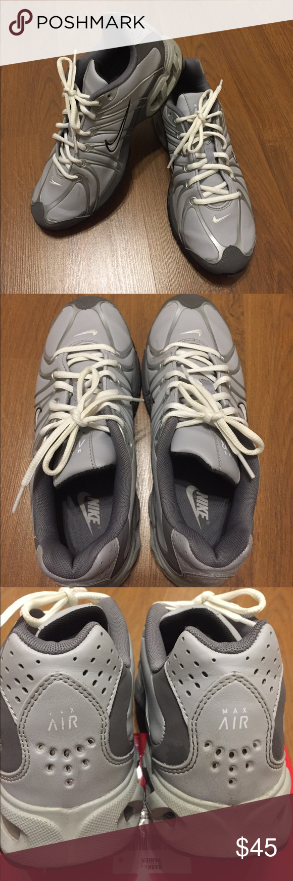 b913d391622 Nike air max torch 5 Nike Air Max Torch 5 SL 316125-012 Gray   Silver Men s  Running Shoes Size 10 Very Gently used. Nike Shoes Athletic Shoes