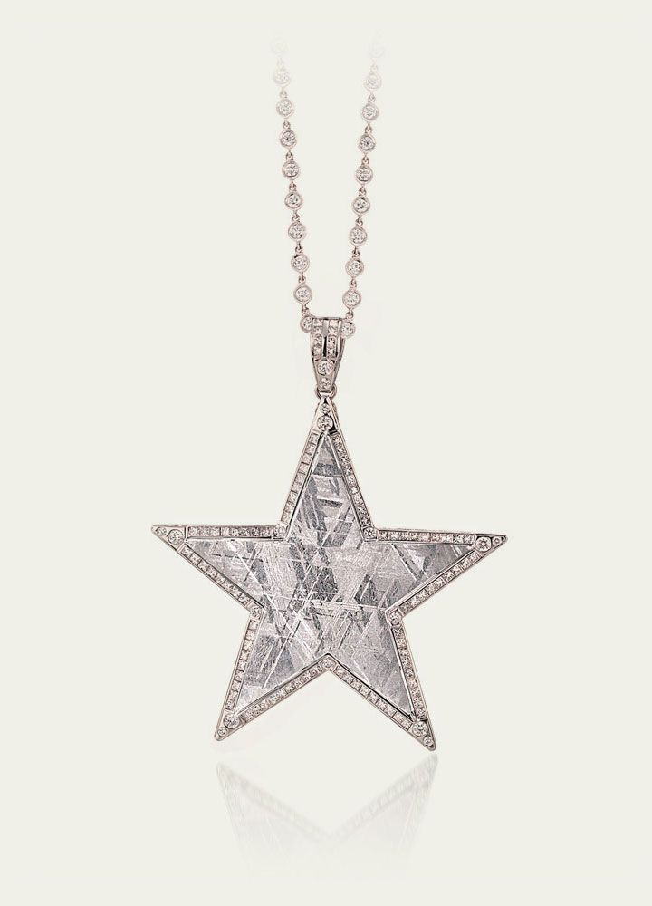 Meteorite star pinpendant jewelry celestial pinterest meteorite star pinpendant aloadofball Image collections
