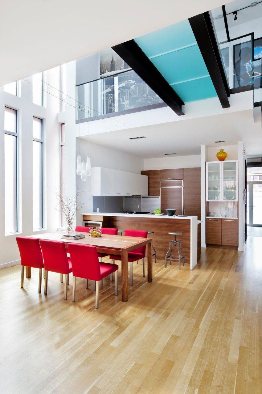 Residence Landsowne By Affleck De La Riva Architects Diseno De Gabinete De Cocina Casa De Ladrillo Moderna Diseno De Interiores