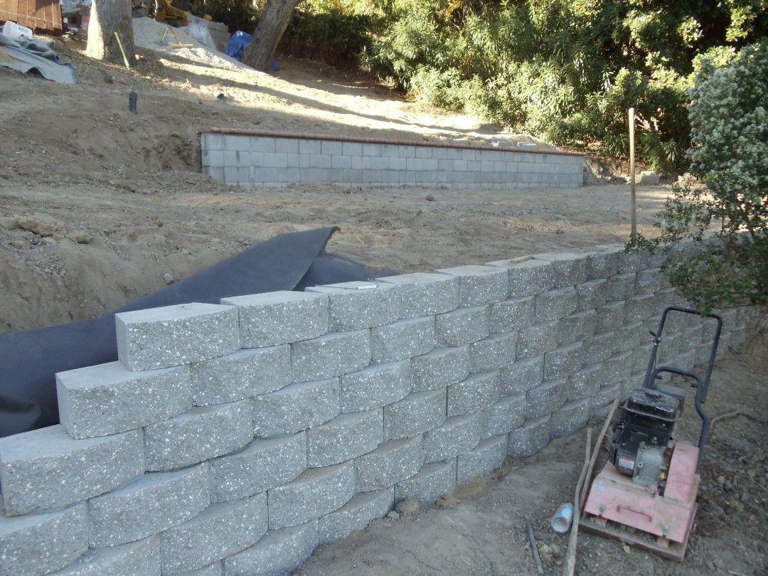 Vander Landscaping Retaining Wall Blocks Concrete Retaining Walls Retaining Wall