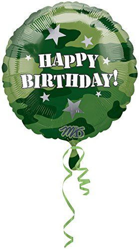 Anagram International Hx Party Streamers Birthday Foil Balloon Multicolor