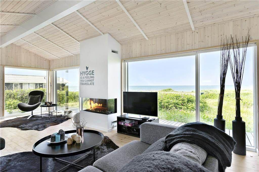 Schöne Wohnzimmer ~ Nørlev strand dänemark hygge schöne wohnzimmer