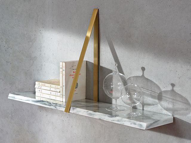 T-Square Marble Shelf by Michael Anastassiades for Coedition