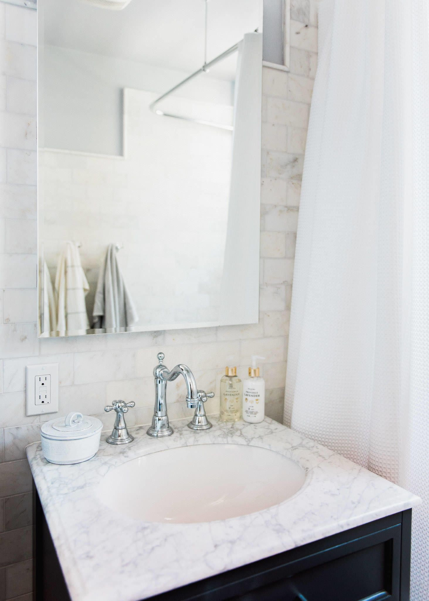 Giving an outdated bathroom a stunning and timeless makeover spa