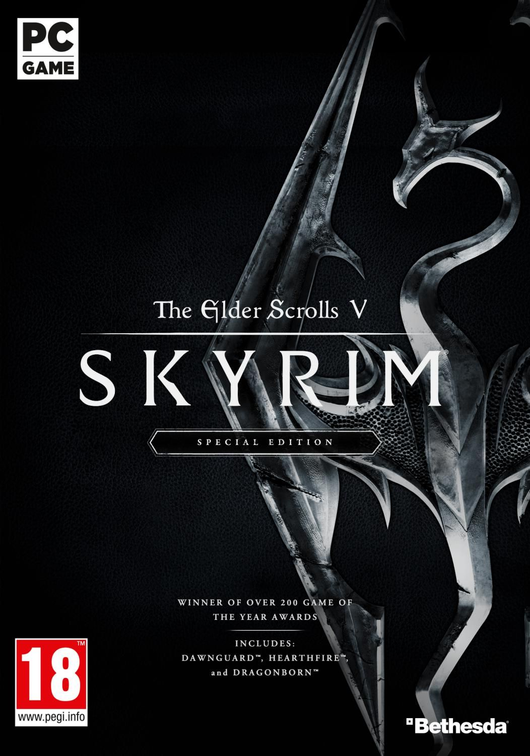 Winner of more than 200 Game of the Year Awards, Skyrim Special Edition  brings the epic fantasy to life in stunning detail. The Special Edition  includes the ...