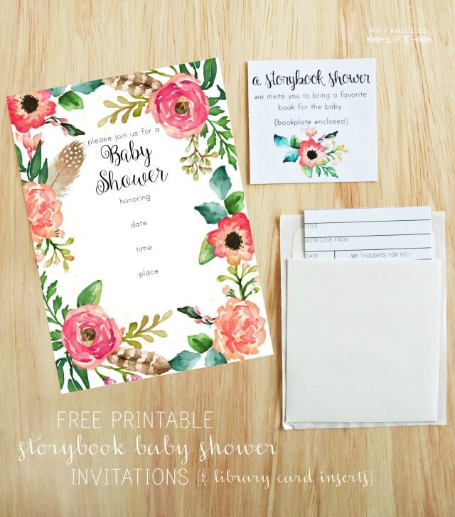 baby shower printable invitations