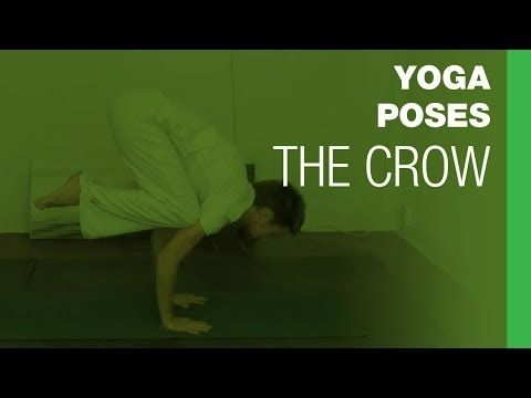 yoga poses the crow  youtube  yoga poses yoga poses