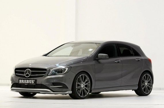 Mercedes Benz A200 Cdi Tuned By Brabus Mercedes Benz