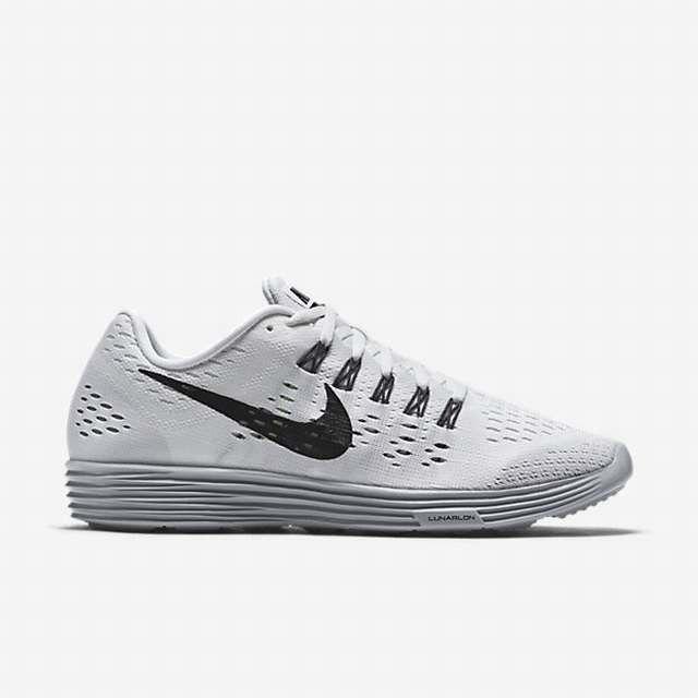 Nike Lunartempo Womens Running Shoes White Wolf Grey Dark Grey Black
