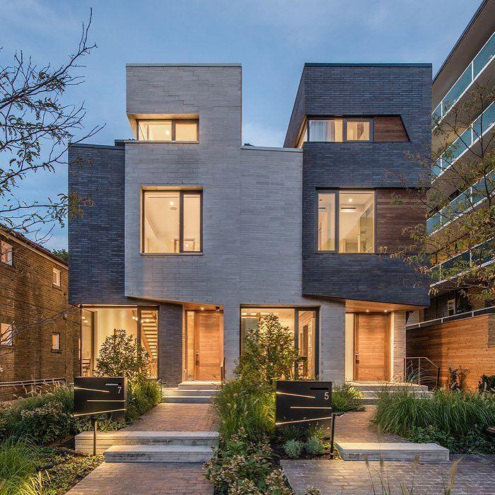 Custom Home Designs Toronto: Relmar Houses By Architects Luc Bouliane Location: