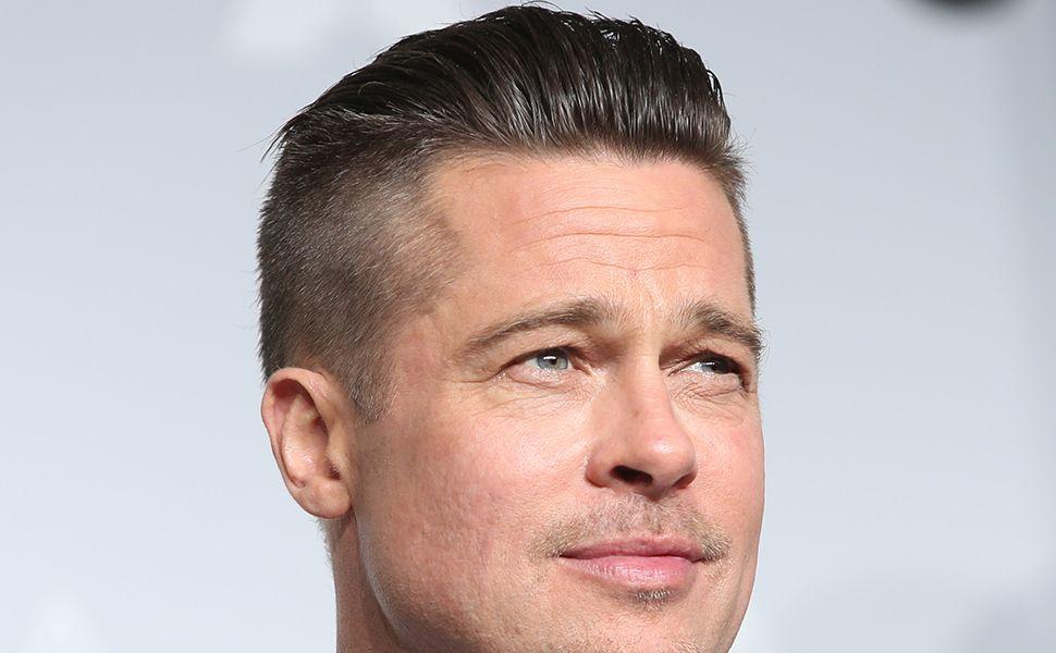 Brad Pitt Undercut Hairstyle , Mens Hairstyle Guide