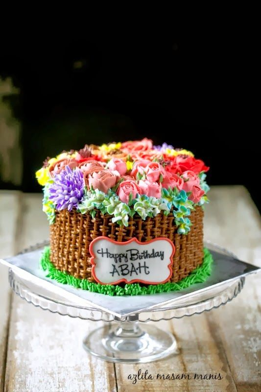Pelajari Cara Membuat Bunga Ros Dari Buttercream Cake Butter Cream Cupcake Cakes