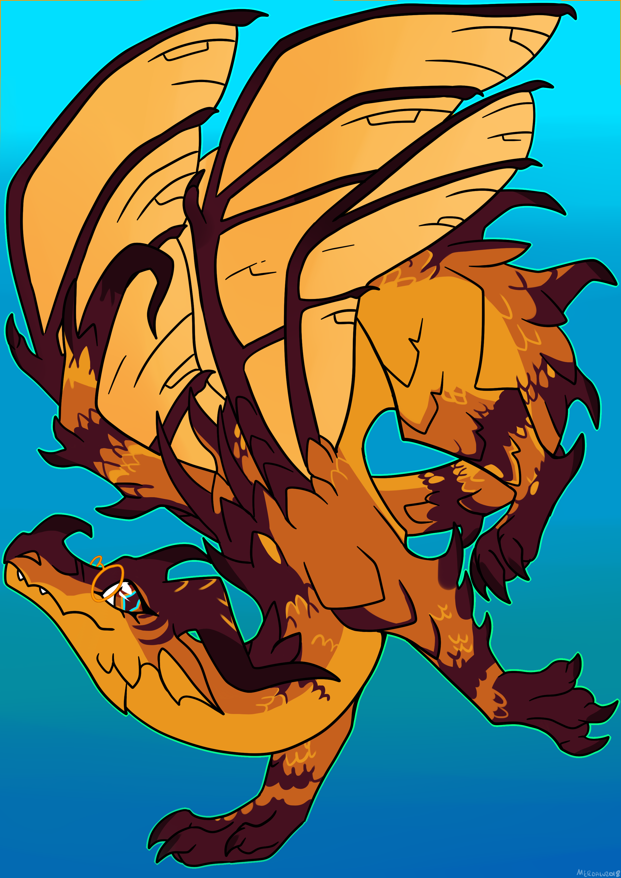 wings of fire as humans anime - HD2480×3507