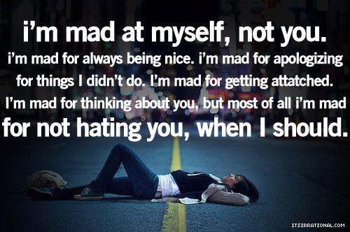 Exceptional Iu0027m Mad For Always Being Nice   ღ Heartbreak Images ღ | Quotes | Pinterest  | Mad, Grief And Qoutes