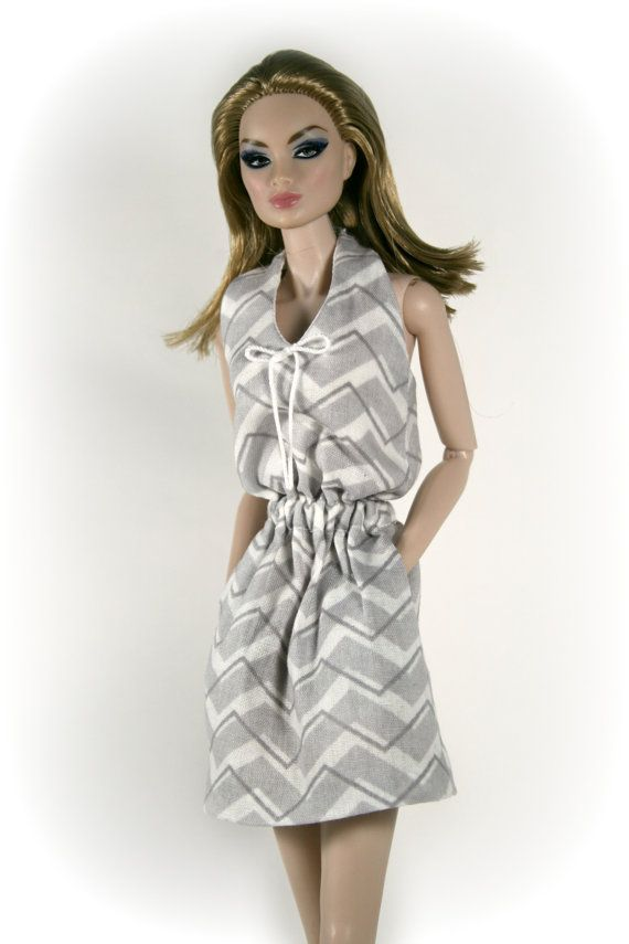 Sundress for Barbie Silkstone Fashion Royalty by ChicBarbieDesigns