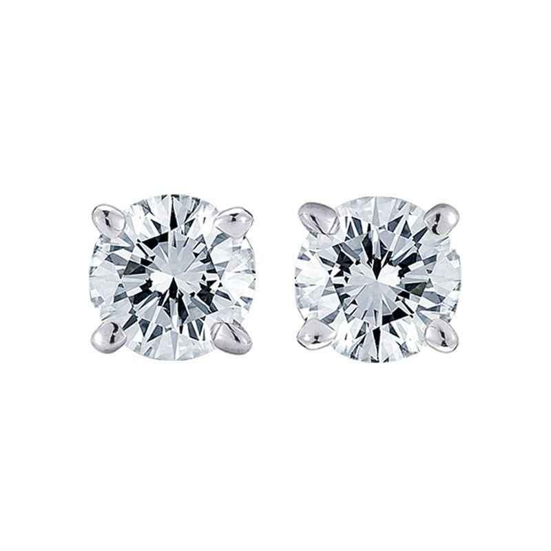 Our Best Selling Studs Classic Anita 1 2ctw Diamond Stud Earrings From Steven Singer Jewelers Lifetime Tr Diamond Earrings Studs Diamond Studs Stud Earrings