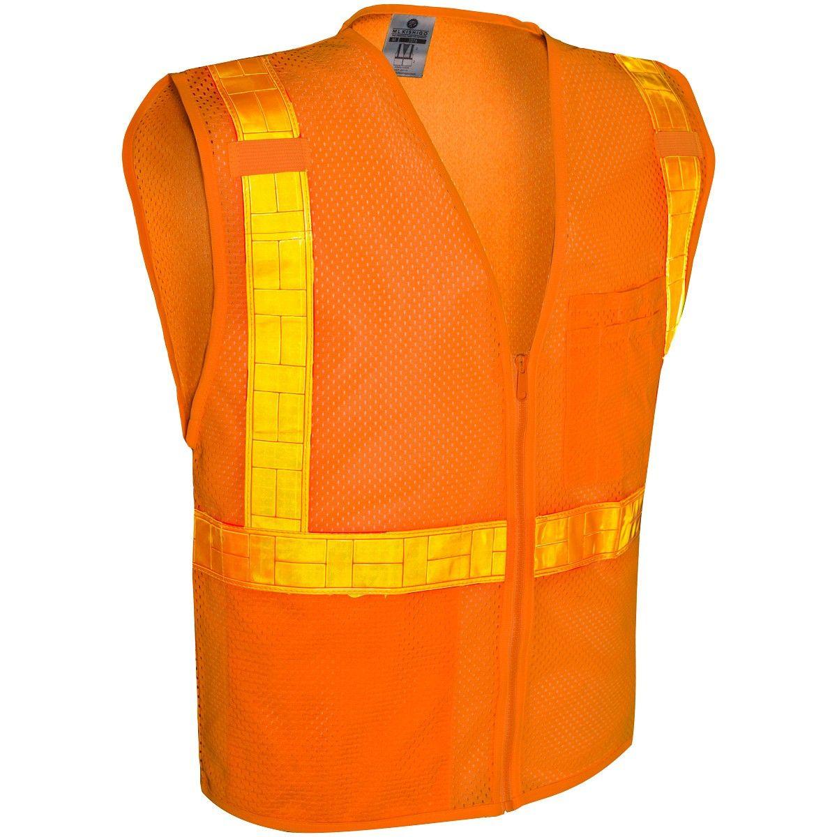 Kishigo 1077 ultracool mesh reflexite safety vest