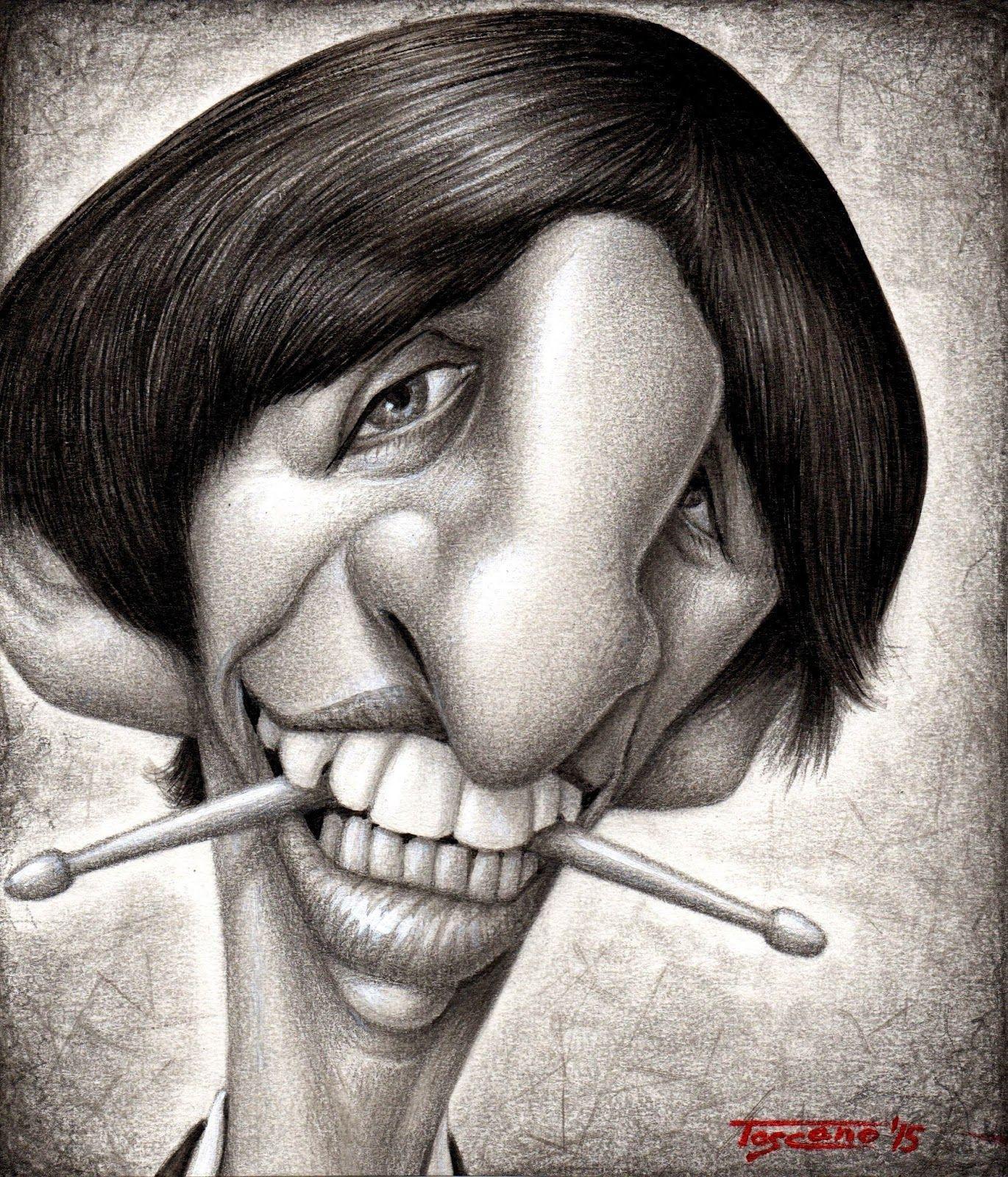 Ringo Starr | Celebrity Caricatures II | Pinterest | Ringo ...