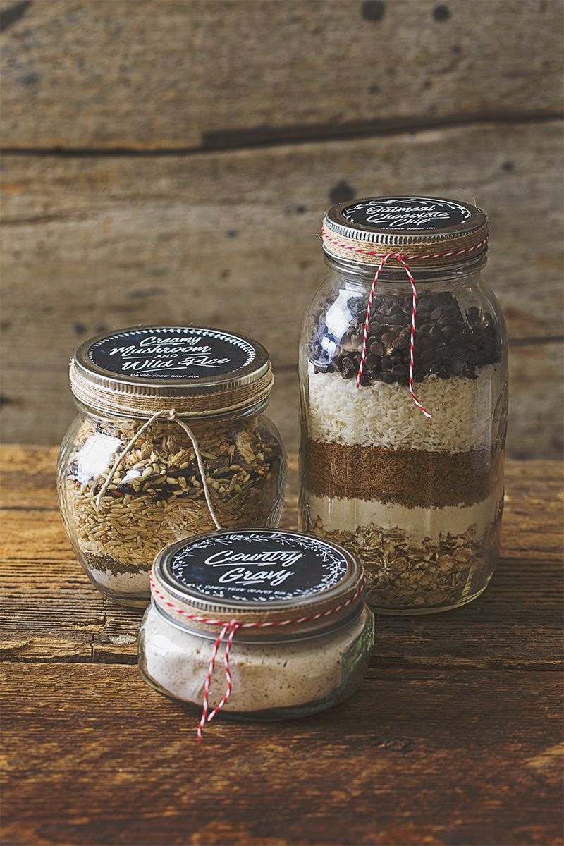 Mason Jar Recipes Are So Fun And Easy To Create And Absolutely Charming To Receive As Gifts This Holiday Season Dairy Free Dairy Free Kitchen Mason Jar Meals