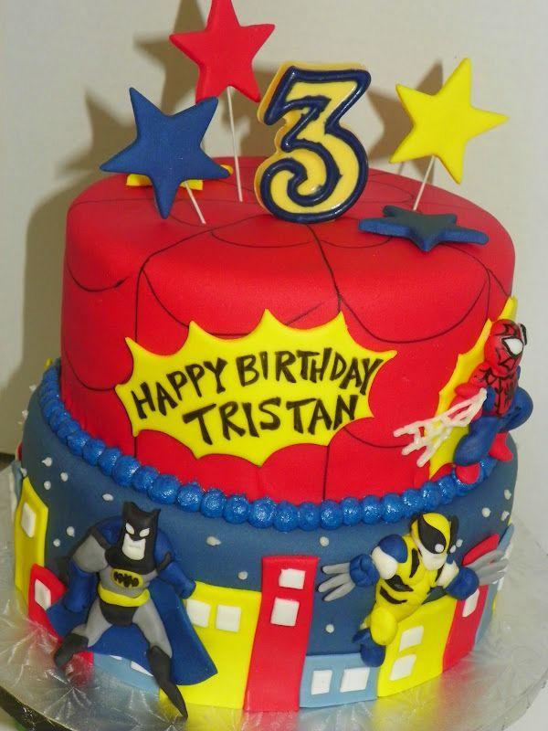 Spiderman Birthday Cake Ideas meknuncom