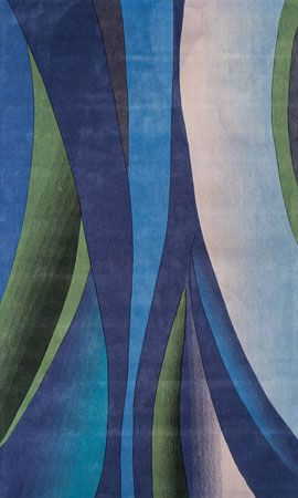 Attractive Tahitian Waves Rug From The Foreign Accents Rugs Collection At Modern Area  Rugs