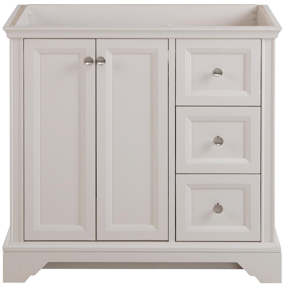 Home Decorators Collection Stratfield 36 In W X 22 In D X 34 In H Bath Vanity Cabinet Only In Cream Sf36 Cr The Home Depot Home Decorators Collection Vanity Cabinet Glamorous Bathroom Decor