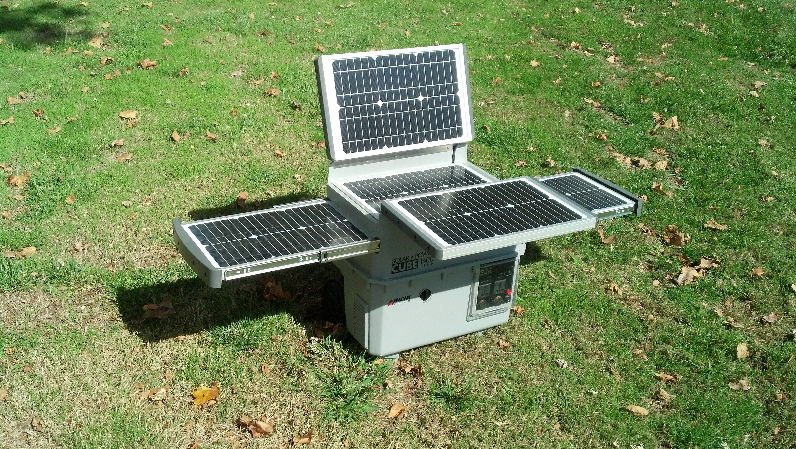 Portable Solar Generator Wagan Tech Solar E Cube 1500 Solar Technology Solar Roof Solar Panel System