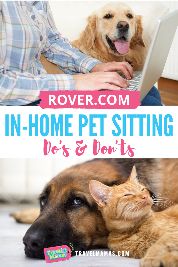 Rover In Home Pet Sitting Dos And Dont S In Home Pet Sitting Travel With Kids Pets
