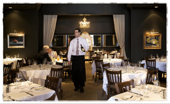 Chez Leon Fine Dining French Restaurant In Clayton Which Has Numerous Awards From