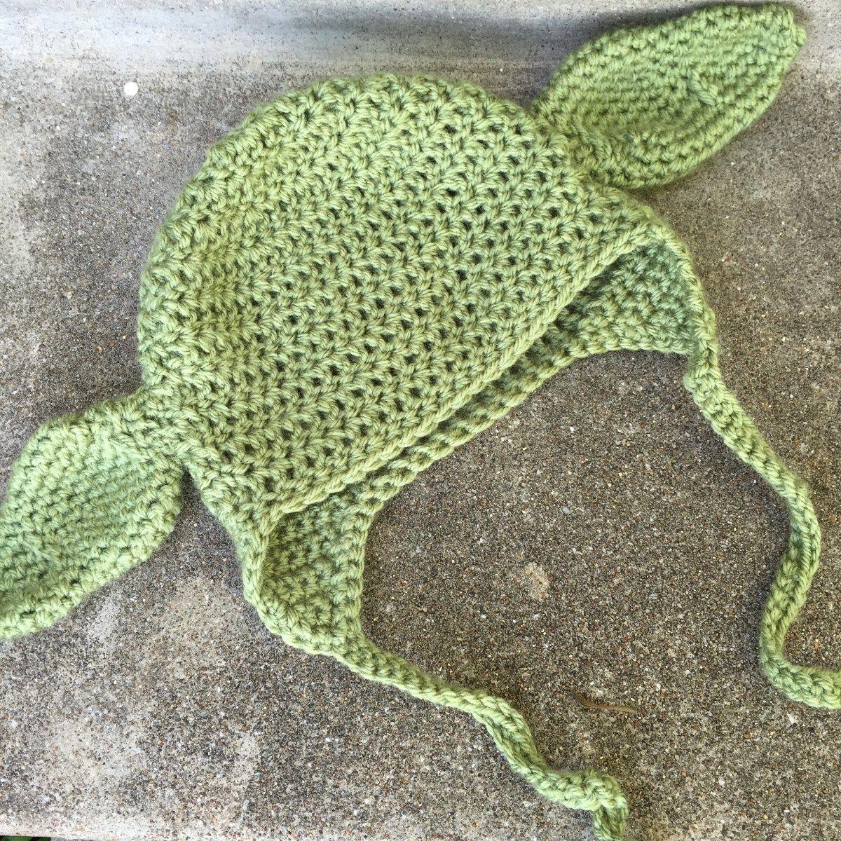 Baby Yoda Hat Crochet Pattern | Gorros, Lana y Luces