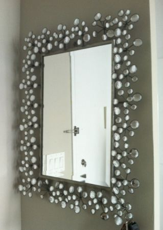 Bathroom Mirrors Silver why are mirrors so expensive? $495 | stuff for the living room