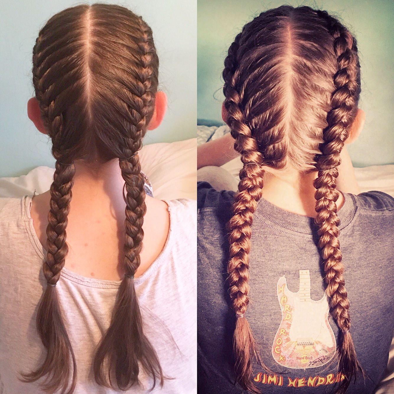french dutch braids hair