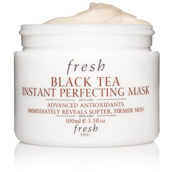 Women's Fresh Black Tea Instant Perfecting Mask (305 BRL) ❤ liked on Polyvore featuring beauty products, skincare, face care, face masks, no color, facial mask, moisturizing facial mask, hydrating mask, cleansing mask and moisturizing mask
