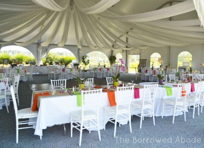 decorating rectangular tables for parties | Caribbean Wedding Tent Decor Herrington on the Bay | The & decorating rectangular tables for parties | Caribbean Wedding Tent ...
