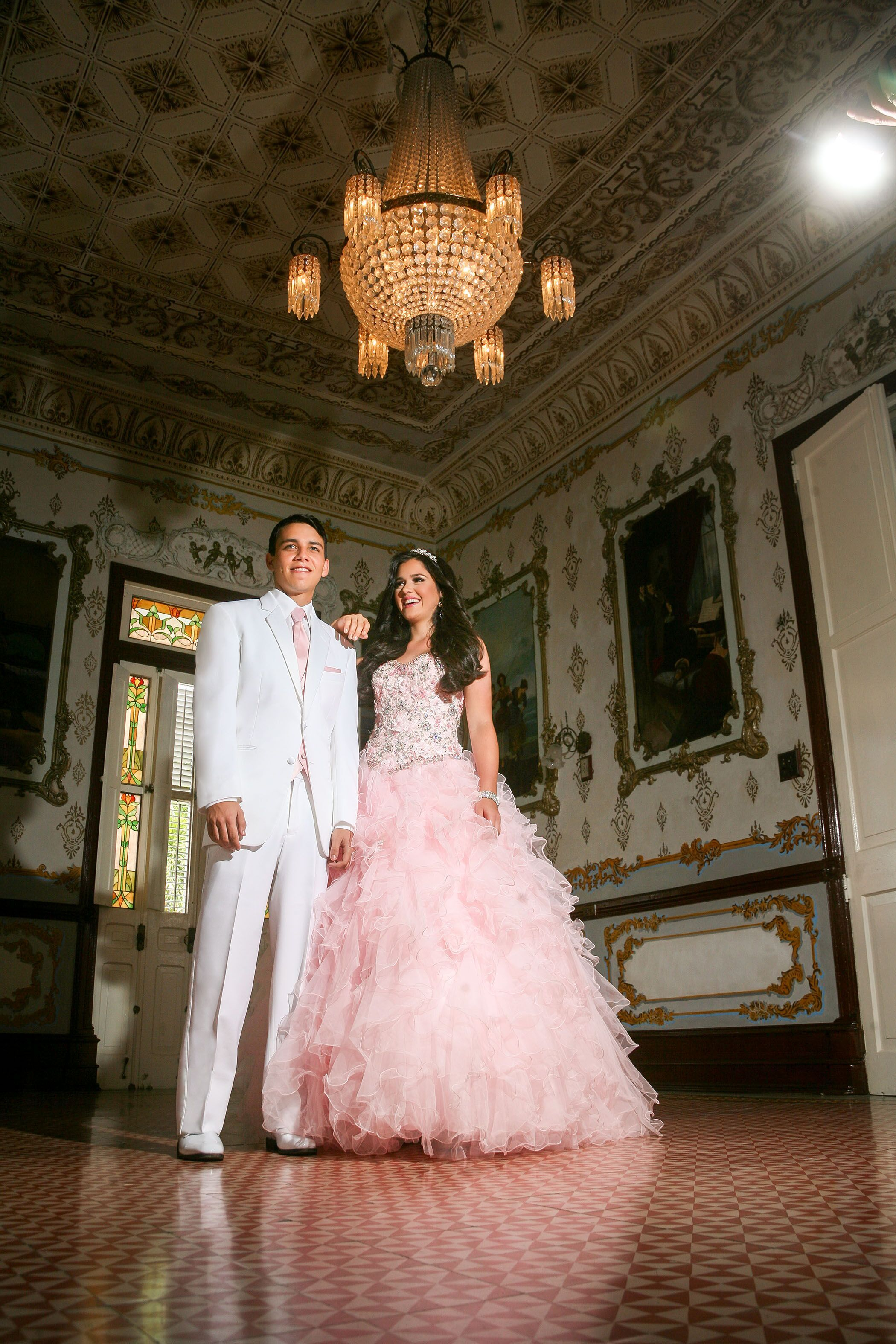 Chambelanes inspo quinceanera dresses pink quince