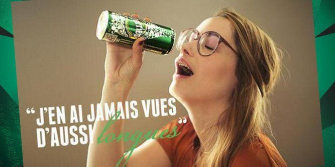 Bim Paye Ton Scandale X With Images Perrier Pub Mirrored
