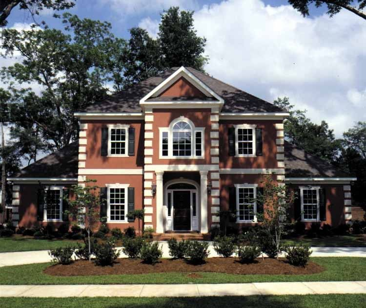 Classical Style House Plan 4 Beds 3 5 Baths 3176 Sq Ft
