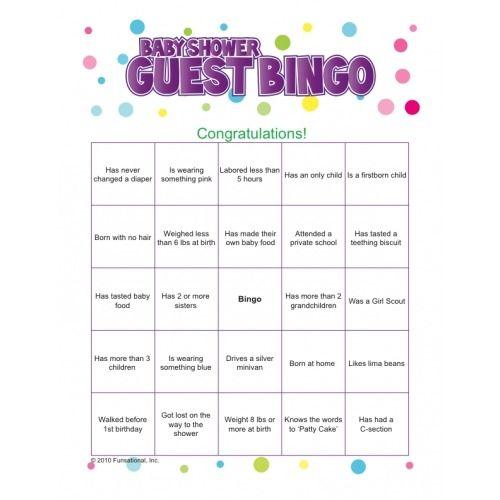 baby shower bingo baby shower stuff fun baby icebreakers baby shower