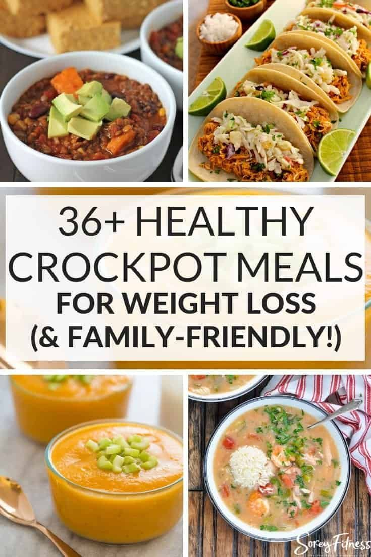 Healthy Crockpot Meals for Weight loss & Your Family - Health & Nutrition Tips - #Crockpot #Family #...