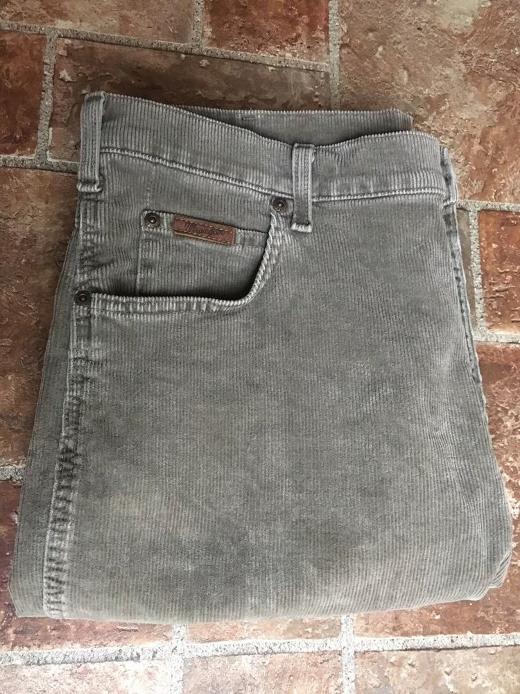 a4865fca WRANGLER TEXAS STRETCH Mens Cord Jeans Straight Leg Size W36 L36 Waist 36  #fashion #clothing #shoes #accessories #mensclothing #jeans (ebay link)
