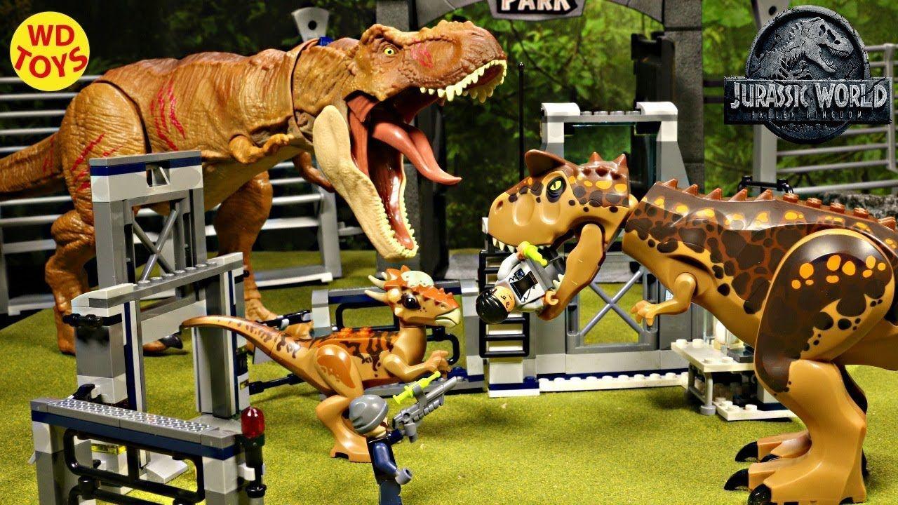 New Lego Jurassic World Stygimoloch Breakout 75927 Unboxing Fallen Kingd Lego Jurassic World Jurassic Park Toys Jurassic World