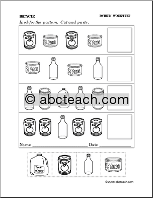 Printables Recycling For Kids Worksheets 1000 images about recycling activities for early childhood on pinterest preschool crayons and color wheels