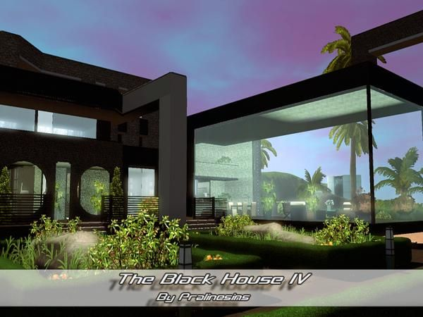 The Black House IV by Pralinesims - Sims 3 Downloads CC Caboodle