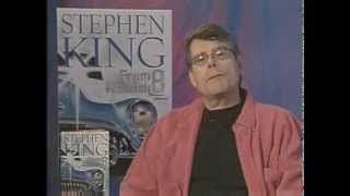 """Stephen King promotes his book """"From a Buick 8"""""""