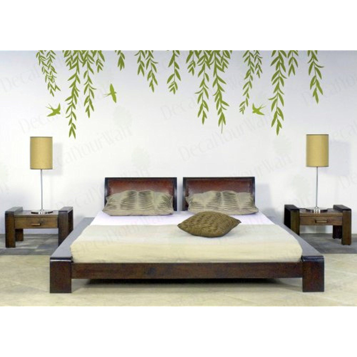 Wall Decal Tree Branch Cool Art For Living Room Vinyl Sticker Z3622 Living Room Vinyl Wall Decals For Bedroom Tree Wall Decal