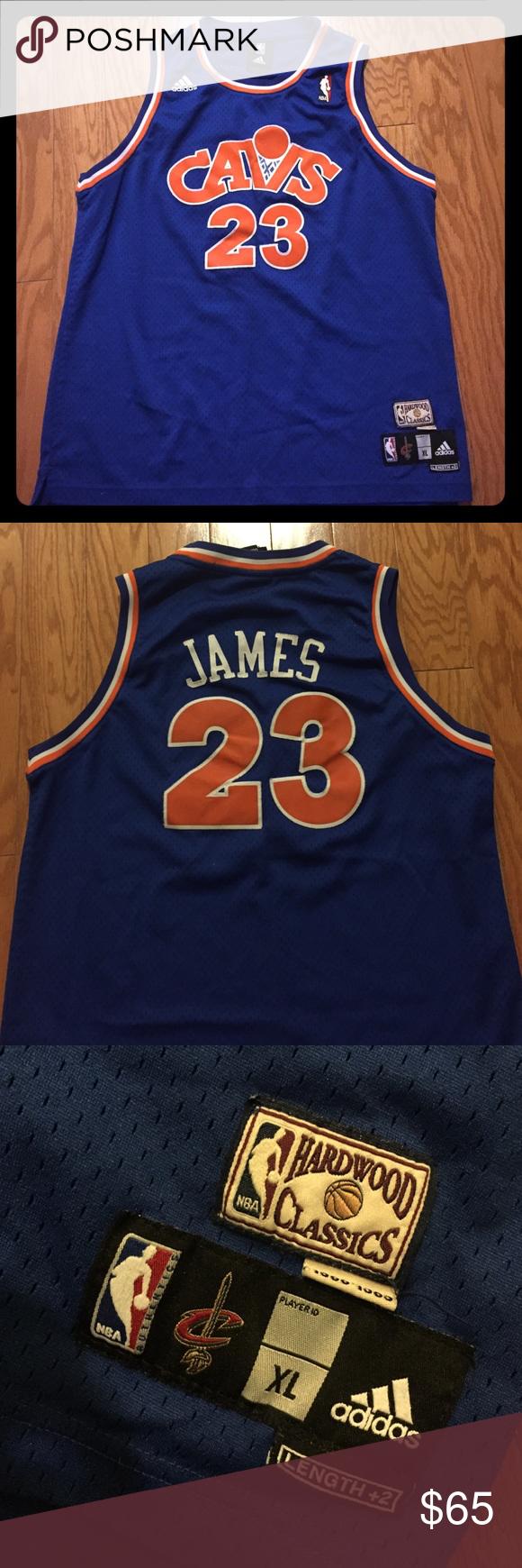 714e91ce45f4 Lebron James- Hardwood Classics Throwback Jersey Lebron James- adidas NBA-  Size youth XL