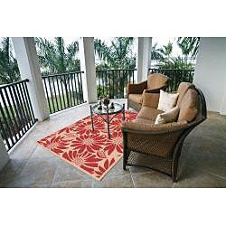 @Overstock - This UV protected all-weather rug is ideal for both indoor and outdoor use. Perfect for patios and decks as well as kitchens and bathrooms, this durable rug features a fringeless border for a clean, elegant look.http://www.overstock.com/Home-Garden/Garden-Town-Collection-Red-Area-Rug-710-x-103/6783810/product.html?CID=214117 $155.99